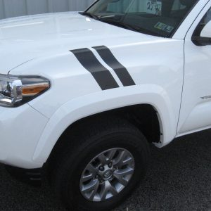 TOYOTA FENDER STRIPES BLACK