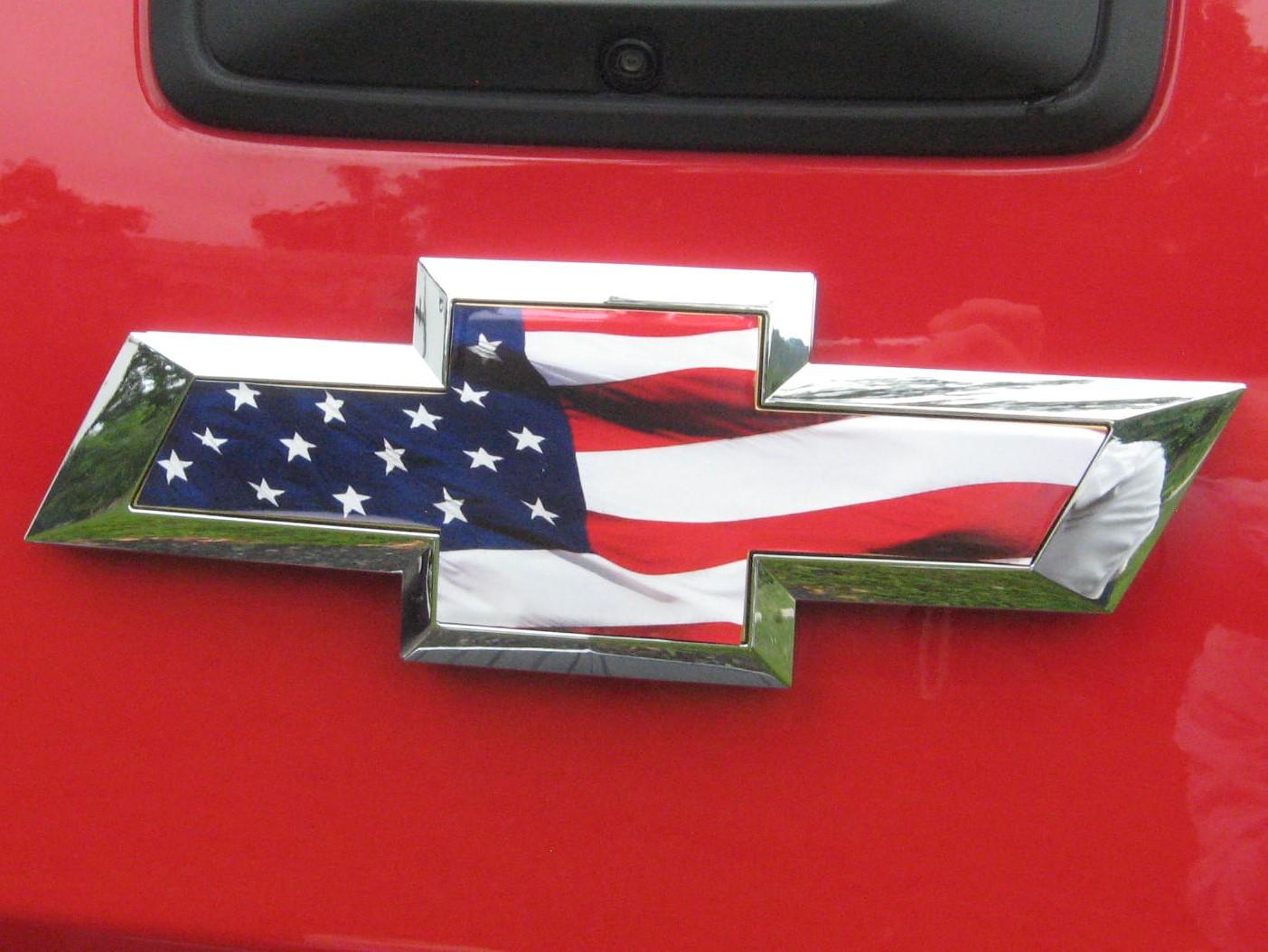 chevy silverado colorado grille tailgate american flag. Black Bedroom Furniture Sets. Home Design Ideas