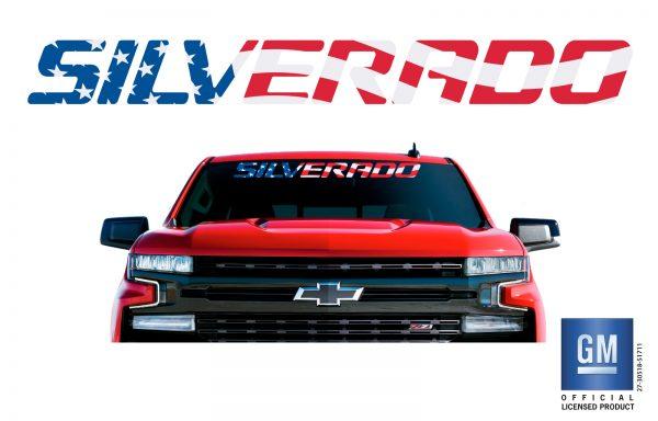 Chevrolet Silverado Windshield Banner